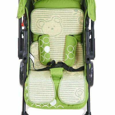 Summer Infant Product Cute Cool Stroller Mat Cushion Baby Seat Pad Pram -Bamboo
