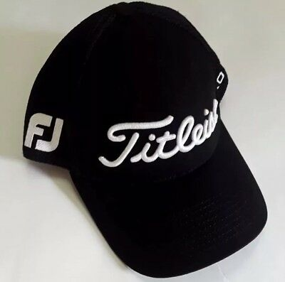 Titleist Pro V1 New Era Stretch Fit Small-Medium Golf Hat Foot Joy Embroidered