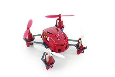 Hubsan H111 NANO Q4 4-CH 2.4GHz Mini Red RC Quadcopter RTF UFO Drone 6 Axis US