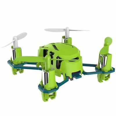 Hubsan H111 NANO Q4 4CH 2.4GHz Mini Green RC Quadcopter RTF UFO Drone 6Axis