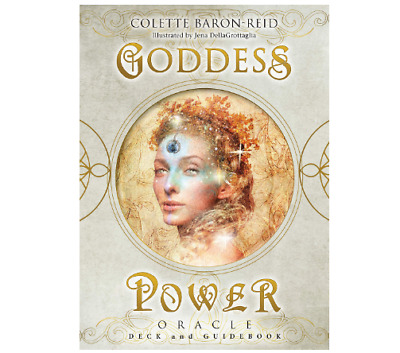 Goddess Power Oracle: Deck and Guidebook Cards  e