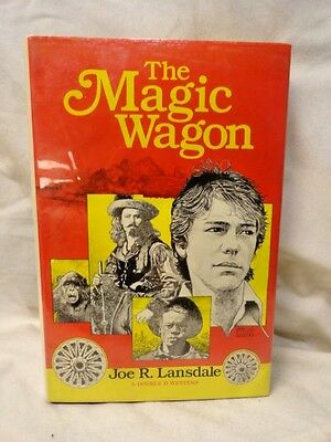 The Magic Wagon Western 1st Edition Hardcover Original Jacket Action Adventure