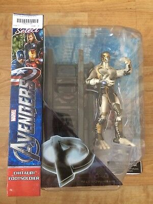 Marvel Select - The Avengers Movie Enemy Chitauri Footsoldier Action Figure