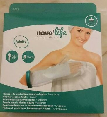 NOVOLIFE Waterproof Protectors Adult Forearm Arm Plaster-Cast Protector