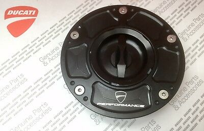 Ducati Billet Aluminium Fuel TankCap Panigale Diavel Monster BRAND NEW