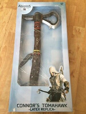 Assassin's Creed Iii 3 Cosplay Connor Kenway The Hunter Tomahawk 50 Cm Latex