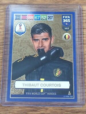 Courtois 2019 Panini Adrenalyn Xl Fifa 365 Fifa World Cup Heroes W/code#352