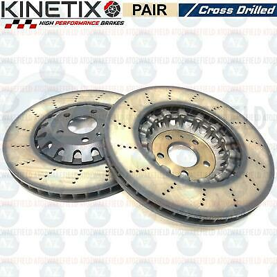 FOR AUDI RS4 B9 Rs5 F53 Front Genuine Floating Drilled Brake Discs  4M0615301Am