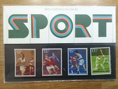 British Mint Stamps Pack No.121 Sport 1980