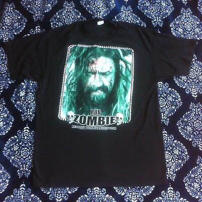 f1325d44aa3f2 Rob Zombie Hell Billy Deluxe 2 World Tour 2009 Concert T-shirt Size XL