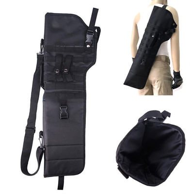 Tactical Rifle Scabbard Shotgun Military Case Shoulder Carry Bag Outdoor Hunting