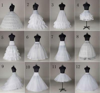 All Kinds Of A-Line/Hoop/Hoopless/Short Crinoline Petticoat/Underskirt wedding
