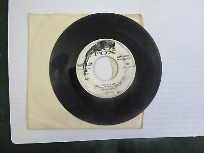 Freddie Meade and the Calenders Mepri Stomp Just Give Me Her Love 45 Promotional