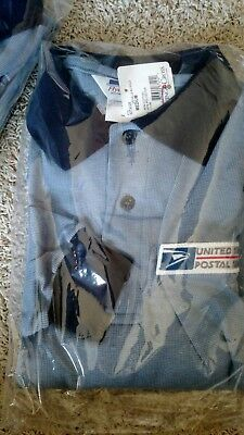 Old Stock USPS Retail Counter Clerk Shirt Flying Cross Shirt M L XL 2XL Mens