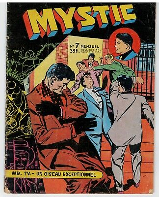 "COMIC ""MYSTIC, no 7"" (1957) ARTIMA"