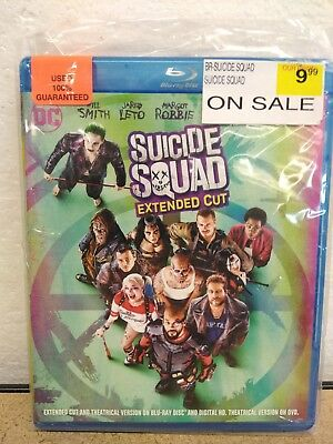 Suicide Squad Extended Cut Blu-Ray