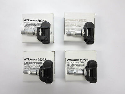 2001 Cadillac Deville New Schrader 20117 TPMS Sensor Set OE Replacement 315 mhz