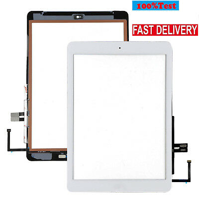 """OEM White Touch Screen Digitizer Glass+Button For iPad 6th 2018 9.7"""" A1893 A1954"""