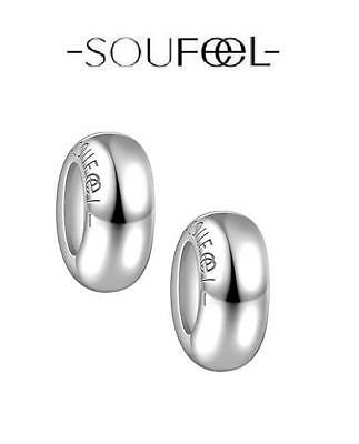 Genuine SOUFEEL 925 sterling silver PAIR OF STOPPERS charm beads