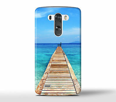 Path Into The Blue Ocean Sea - Hard Phone Case Cover Fits LG G Models