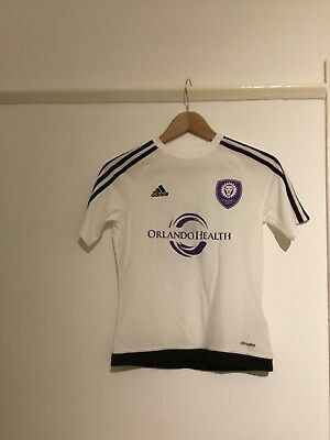 Orlando City Football Children's White Top Age 11-12 Years