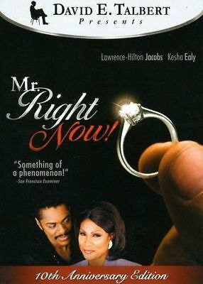 David E. Talbert's Mr. Right Now! [DVD, Full Frame] BRAND NEW! *FREE SHIPPING!
