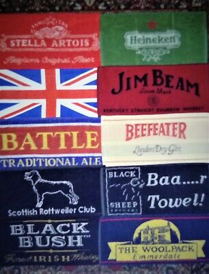 10 Ten Different Beer - Bar Towels - New