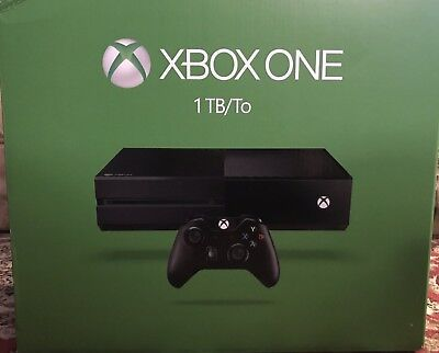 Microsoft Xbox One 1TB Black Console With One Controller (Read Description)