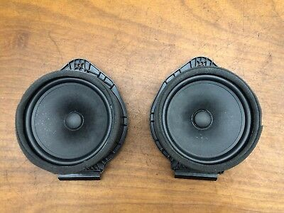 2013 Chevrolet Camaro SS Boston Door Speakers Subs Pair Set OEM