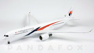 Malaysia Airlines Airbus A350-900 9M-MAB JC Wings LH2MAS117 LH2117 Scale 1:200