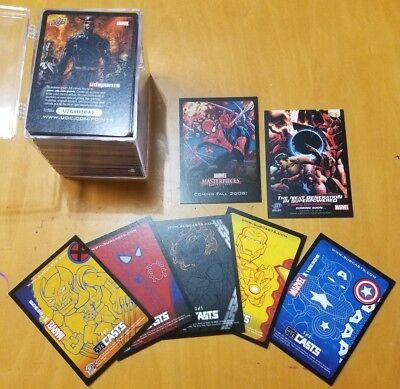 Mixed Lot Of Promo Cards.. 2003, 2007, 2008 Marvel Trading Cards