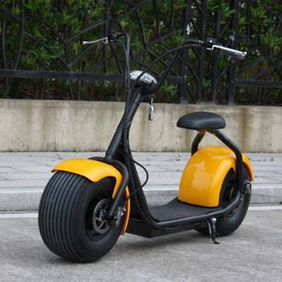 """Stuff Certified ® City Coco Smart E Electric Scooter Harley Pro - 18 """"- 1000W -"""