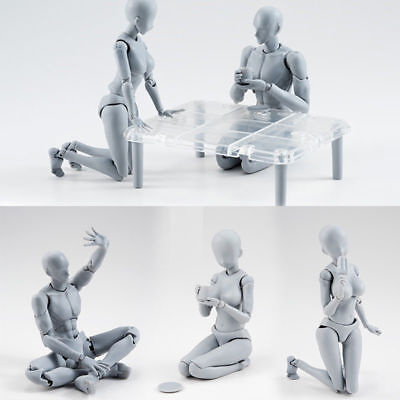 Drawing Figures For Artists Action Figure Model Human Mannequin Man Woman Kit D