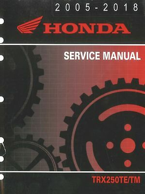 2005 2011 honda trx250 recon service manual download