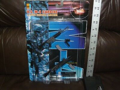 Us M4 Carbine With M203 Grenade Launcher 1/6Th Scale Carded Dragon Figures