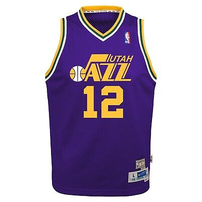 3311b6f4465 mens utah jazz john stockton adidas purple hardwood classic swingman jersey   john stockton utah jazz nba youth throwback swingman jersey