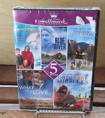 Hallmark Collection 5 Movies DVD New Sealed Blue River