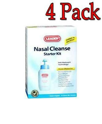 Leader Nasal Cleanse Starter Kit, 4 Pack 096295119473C599