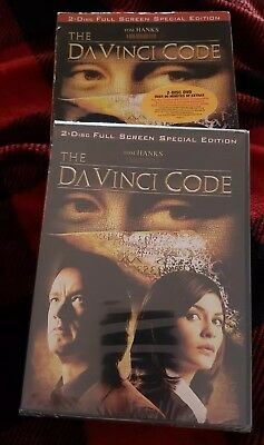 The DaVinci Code (DVD, 2-Disc Set) FULL SCREEN Special Edition, FREE US SHIPPING