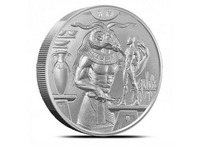 Khnum 2 oz Ultra High Relief Silver Round | Egyptian Gods | .999 Silver