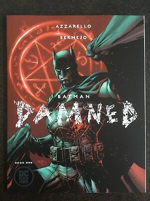 Batman Damned #1 VARIANT JIM LEE NM/MT 9.8 RECALLED BLACK LABEL UNCIRCULATED HOT