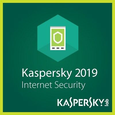 Kaspersky Internet Security 2019 1 Anno 1 PC/MAC/Mobile Original Key Antivirus