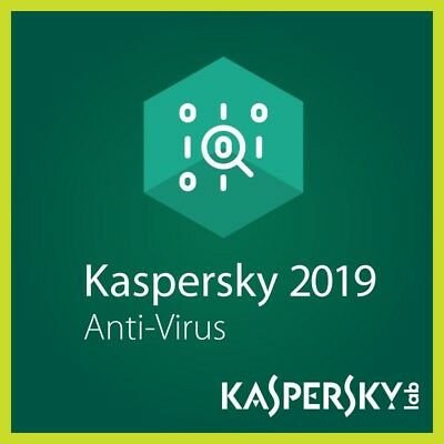 Kaspersky Anti-Virus 2019 1 Anno 3 PC/MAC/Mobile Original Key Antivirus ESD