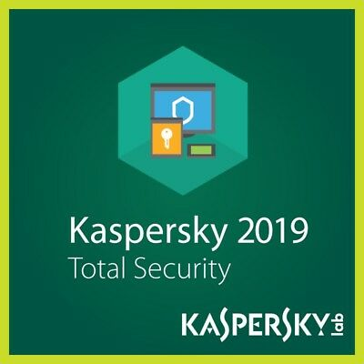 Kaspersky Total Security 2019 1 Anno 3 PC/MAC/Mobile Original Key Antivirus ESD