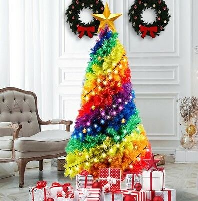 Christmas Tree... Rainbow 180cm High