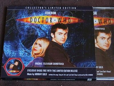Doctor Who: Music from Series 1 & 2 CD - Limited Edition with badge/slip-case