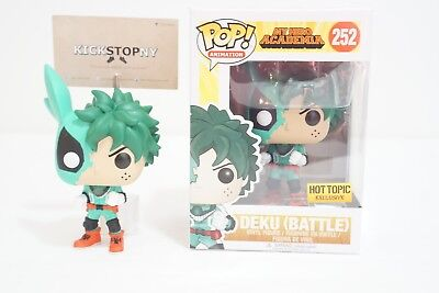 Funko Pop My Hero Academia Battle Deku Hot Topic Exclusive IN HAND Authentic