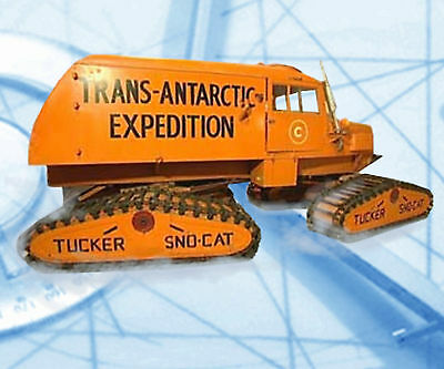 Model Tucker Sno‑cat 1:16 Scale Radio Control Full Size Printed Plans & Notes