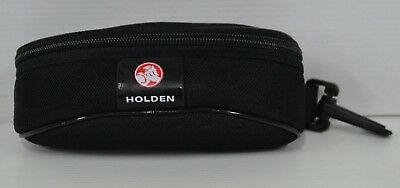 Holden Official Merchandise Brand New Black Waterproof Canvas Glasses Case
