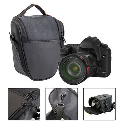 1x Portable Triangle Digital Lens Shoulder Carry Case Bag For DSLR SLR Camera